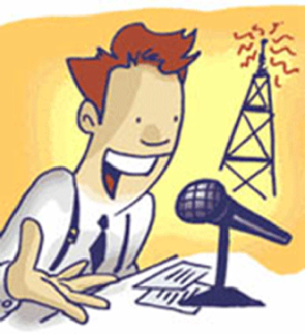 Kartun-Penyiar-Radio